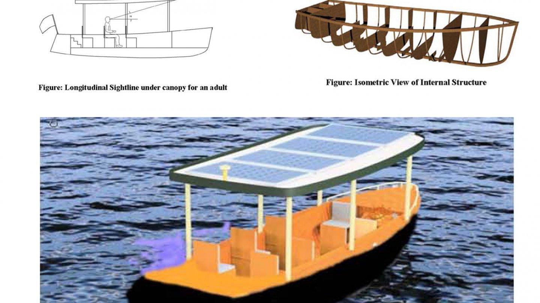 Solar Boat Design