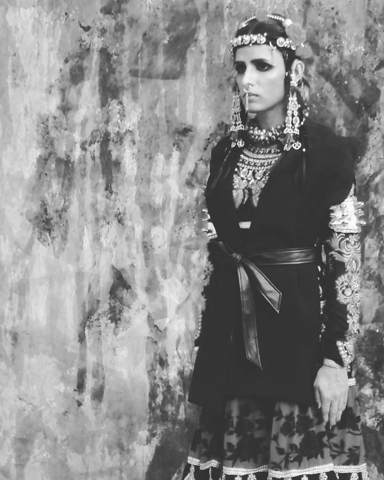 Activist makes modeling debut